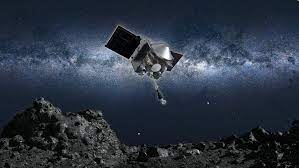 SPACECRAFT RETURNS TO EARTH WITH ASTEROID SAMPLES
